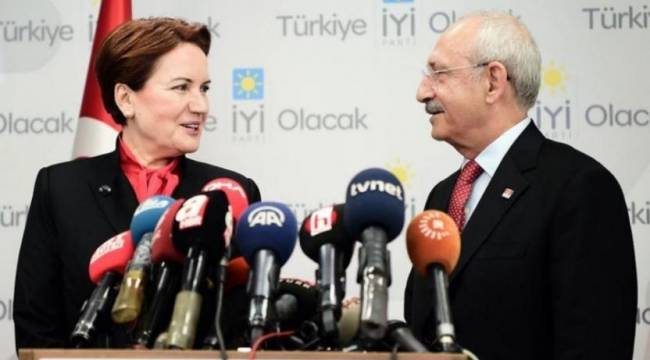 CHP ve İYİP'den ortak açıklama