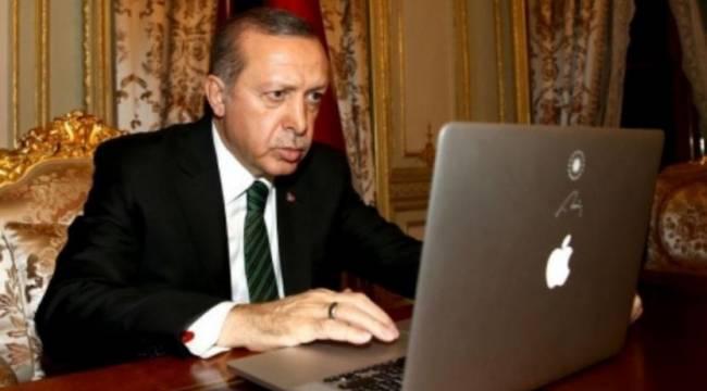 Erdoğan: Sosyal medya şirketlerinin baskısına boyun eğmeyeceğiz