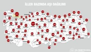 İzmir'de 76 bin 688 kişi aşılandı
