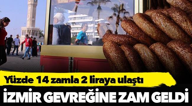 İzmir gevreğine zam geldi