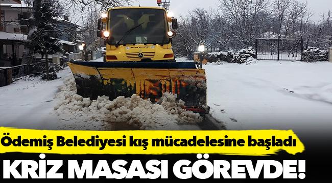 Ödemiş Belediyesi kış mücadelesine başladı