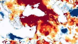 Uydu görüntüleri yayımlandı: Türkiye ciddi kuraklık tehdidiyle karşı karşıya