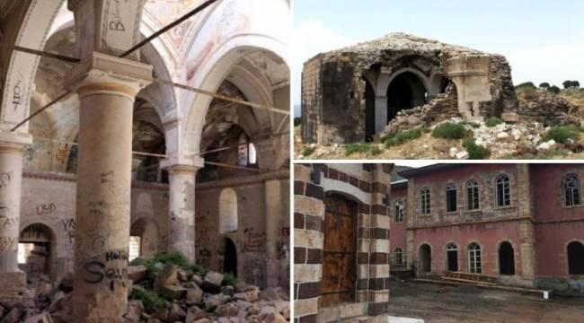 'Çok sayıda tarihi eser restore edilmeyi bekliyor'