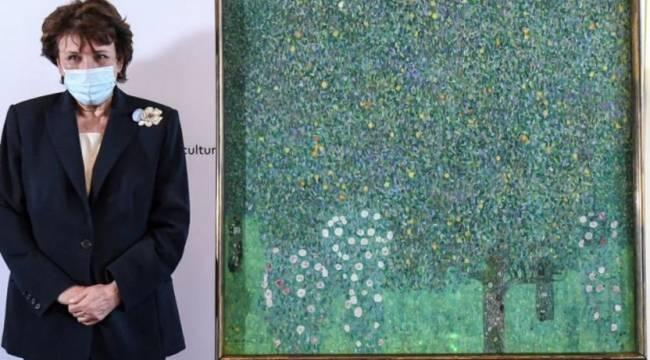 Fransa elindeki tek Klimt tablosunu da sahibine iade ediyor