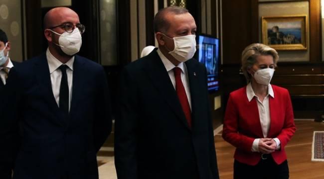 AB liderleri Türkiye'de: İstanbul Sözleşmesi'nden çıkılması nedeniyle derin kaygı duyuyoruz