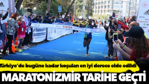 Türkiye'de bugüne kadar koşulan en iyi derece elde edildi