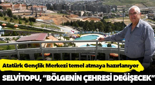 Atatürk Gençlik Merkezi temel atmaya hazırlanıyor