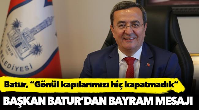 Başkan Batur'darn Bayram Mesajı