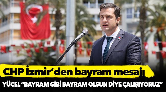 CHP İzmir'den Bayram Mesajı