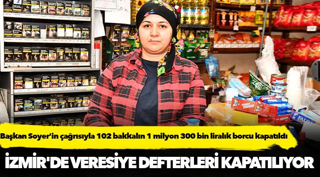 İzmir'de veresiye defterleri kapatılıyor