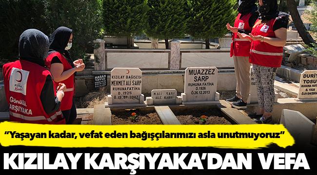 Kızılay Karşıyaka'dan  Vefa