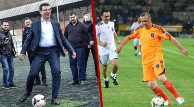 İmamoğlu Erdoğan'ı halı sahada maç yapmaya çağırdı