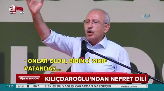 Kılıçdaroğlu'ndan A Haber'e: 'Algı yapalım' derken bütün AK Parti seçmenine hakaret etmişler