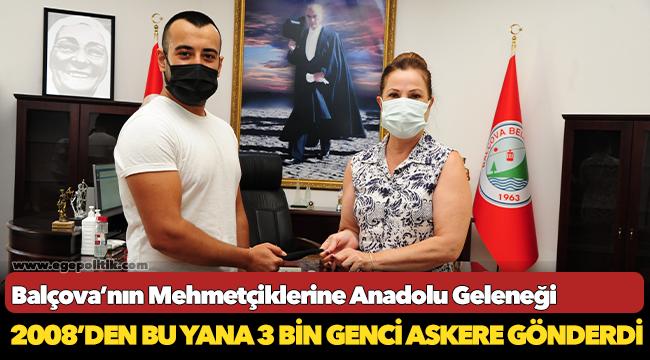 Balçova'nın Mehmetçiklerine Anadolu Geleneği