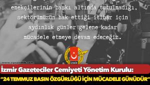 İzmir Gazeteciler Cemiyeti: