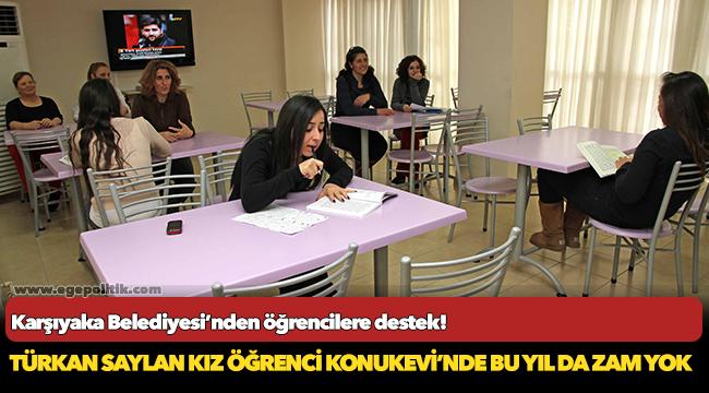 Karşıyaka Belediyesi'nden öğrencilere destek!