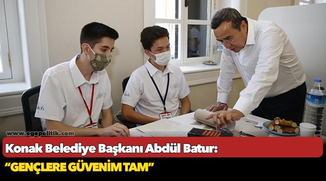 Konak Belediye Başkanı Abdül Batur: