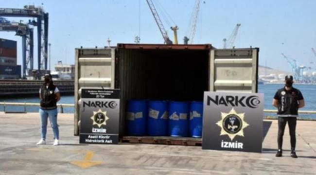 Sedat Peker'in işaret ettiği İzmir'de 26 tonluk uyuşturucu operasyonu
