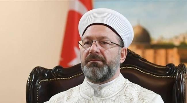 Diyanet İşleri Başkanı Ali Erbaş: Ben de 'Günaydın' derim