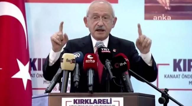 Kılıçdaroğlu: İki yıl içinde bütün sığınmacıları davulla zurnayla memleketlerine göndereceğiz