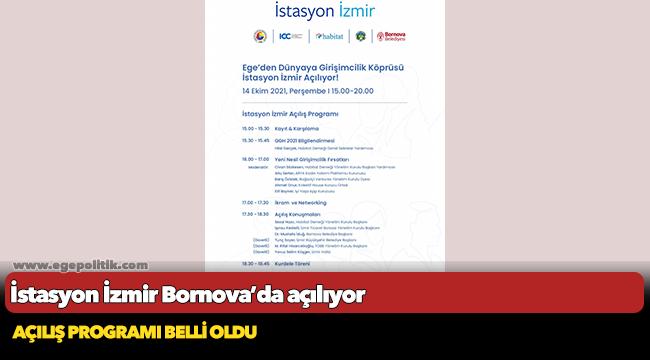 İstasyon İzmir Bornova'da açılıyor