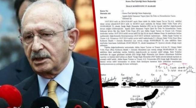 Kılıçdaroğlu'nun 'elime ulaştı' dediği belge ortaya çıktı