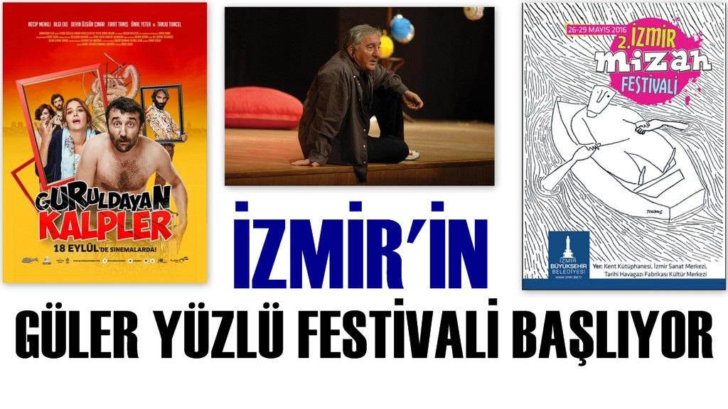 2. İzmir Mizah Festivali Başlıyor