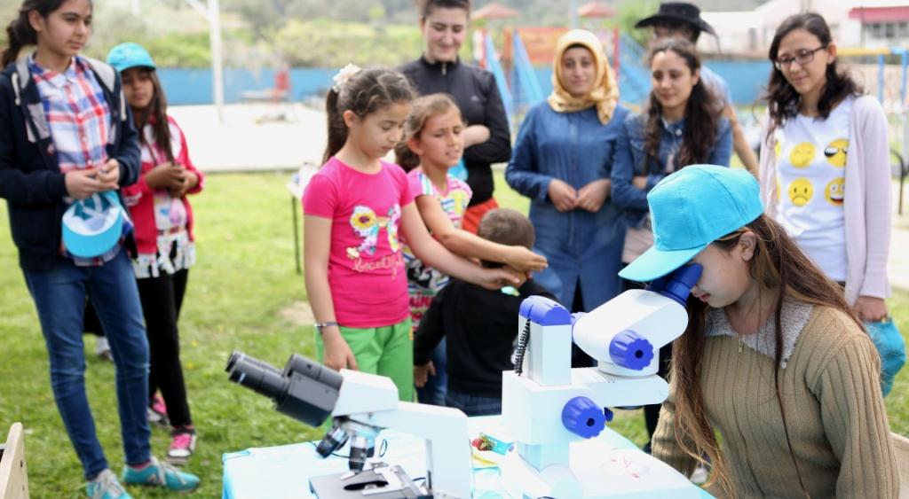 Bornova'da bilim her yerde