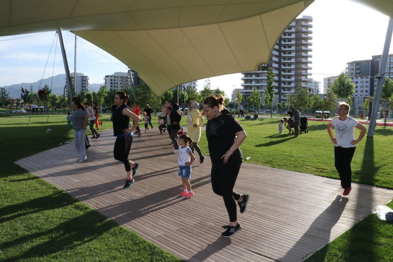 Büyükşehir'den Sağlık İçin Spor Etkinliği