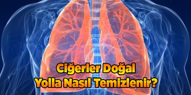Ciğerler Doğal Yolla Nasıl Temizlenir?