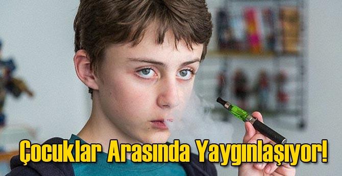 Çocuklar Arasında Elektronik Sigara Kullanımı Yaygınlaşıyor!