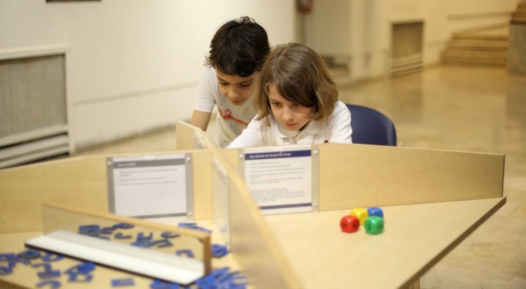 Dokunulabilir Matematik Sergisi açıldı