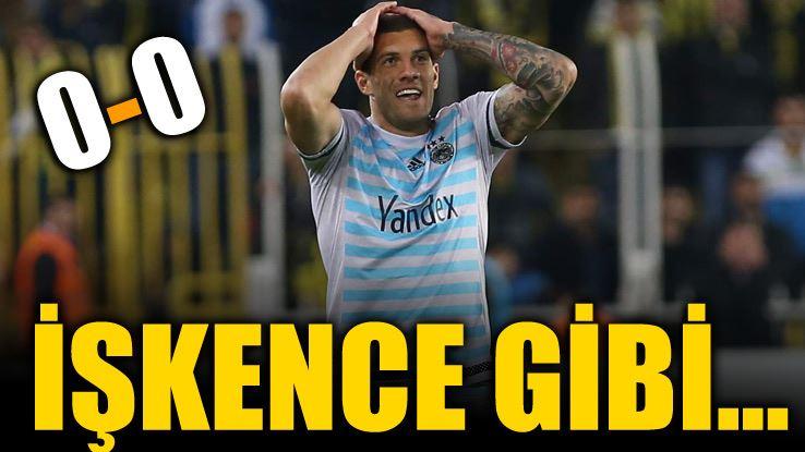 Fenerbahçe 0 Osmanlıspor 0