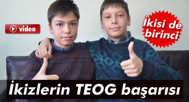 İkizlerin TEOG başarısı