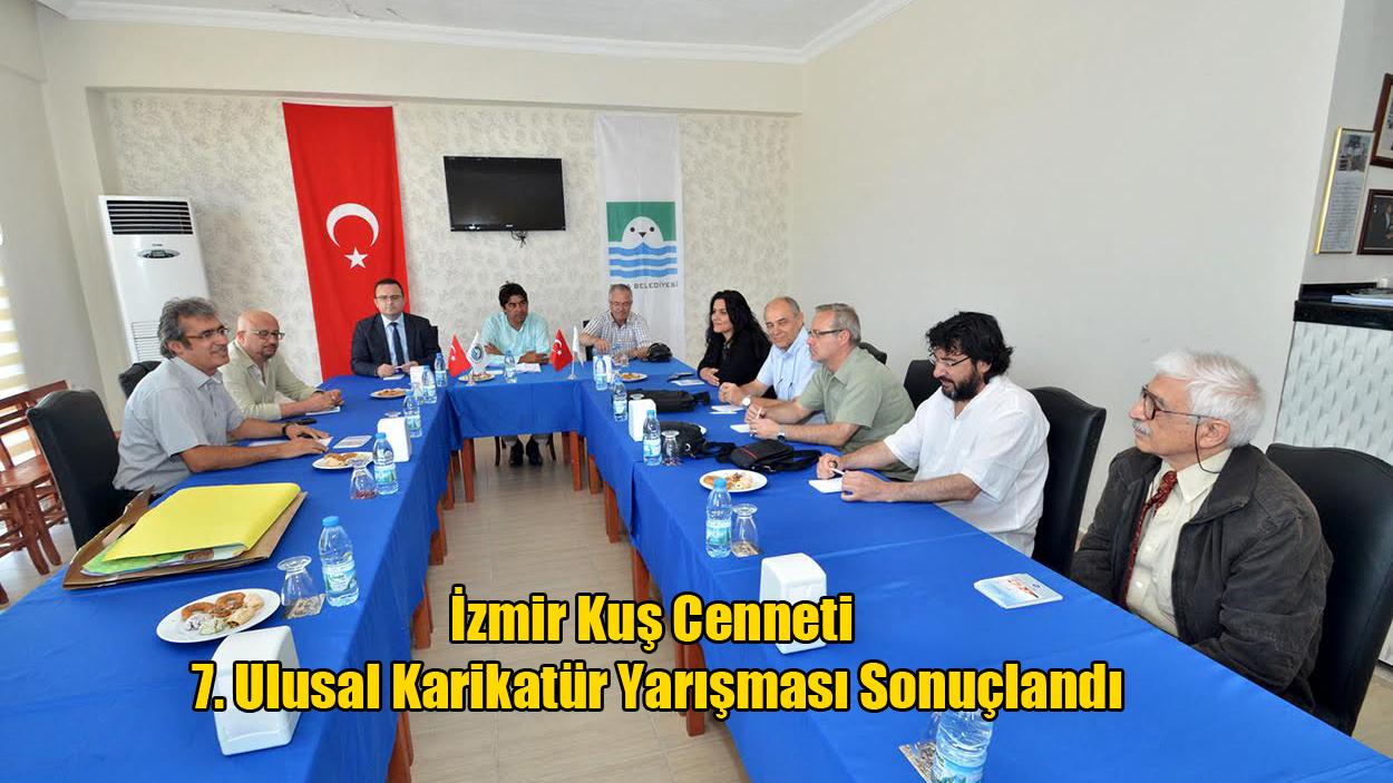 İzmir Kuş Cenneti 7. Ulusal Karikatür Yarışması Sonuçlandı