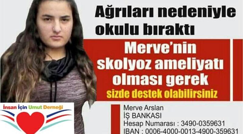 İzmirli Skolyoz Hastası Genç İçin Kampanya Başlattılar