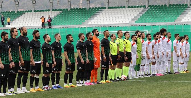 Manisa BBSK 1 - 1 Çatalcaspor