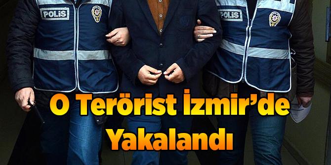 O Terörist İzmir'de Yakalandı