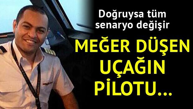 Şok İddia: Düşen Mısır Uçağının Pilotu Acil İniş Yapmak İstedi