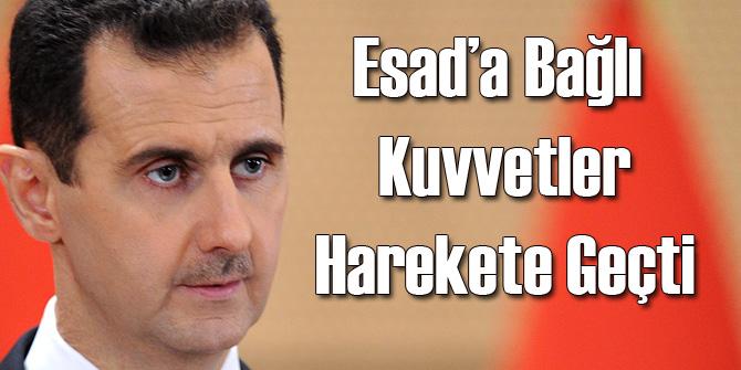 Suriye'de Rejim Kuvvetleri Harekete Geçti