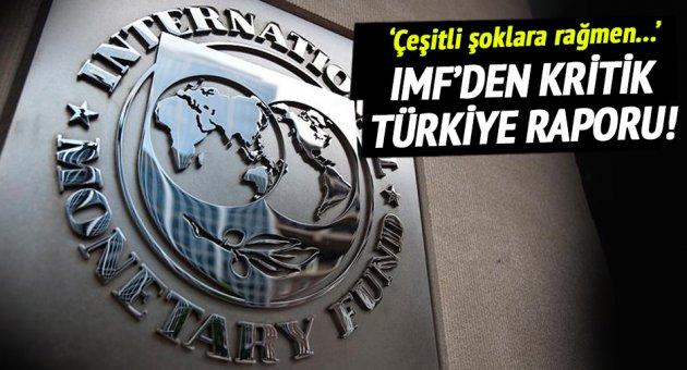 Türkiye raporunu yayınladı