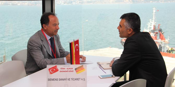 Türk ürünlerini almak için İzmir'e geldiler